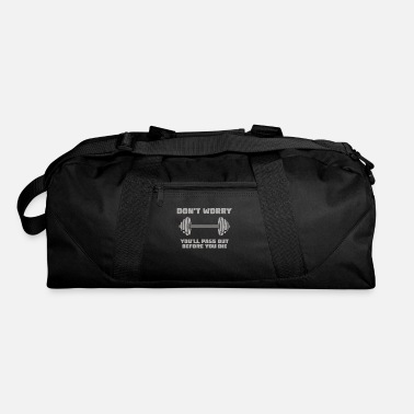 Powerlifting Weightlifting Powerlifting Bodybuilding Gift - Duffel Bag