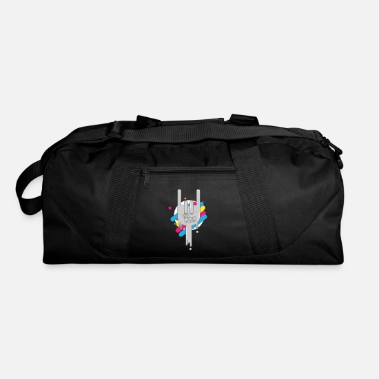 Metal Bags & Backpacks - Rock N Roll METAL - Duffle Bag black