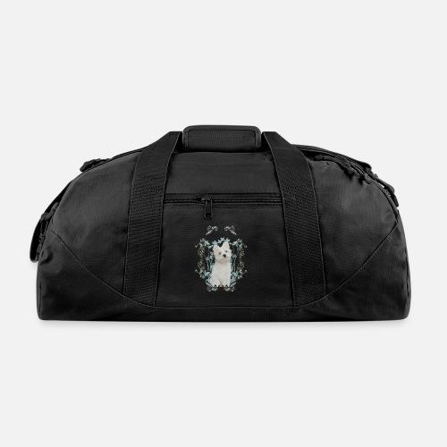 d2d8edf0550b Cute little maltese puppy Duffle Bag