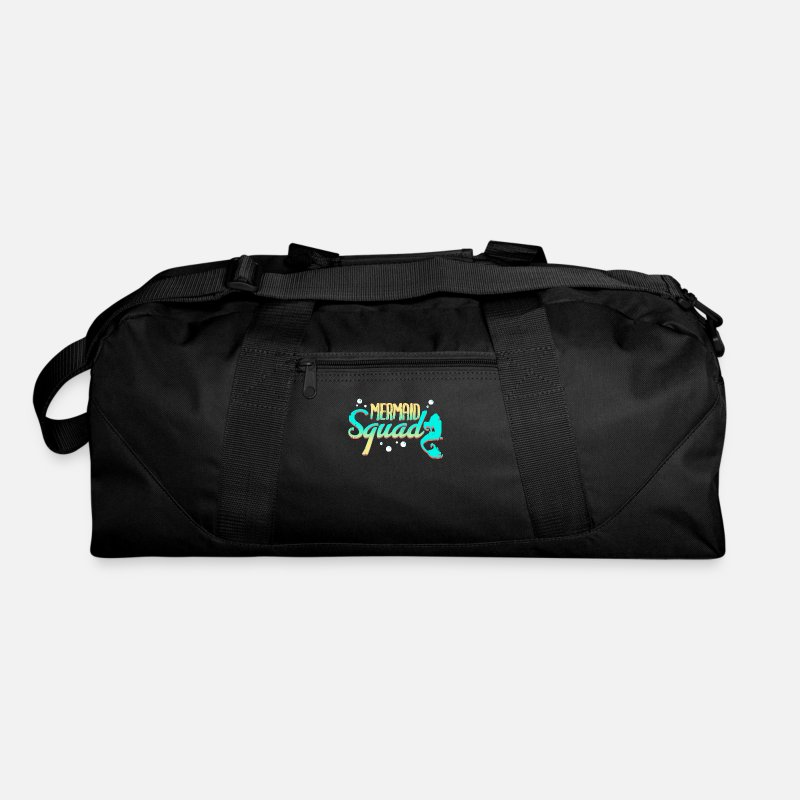 c233a031be10 Mermaid Bags   backpacks - Mermaid - Duffle Bag black