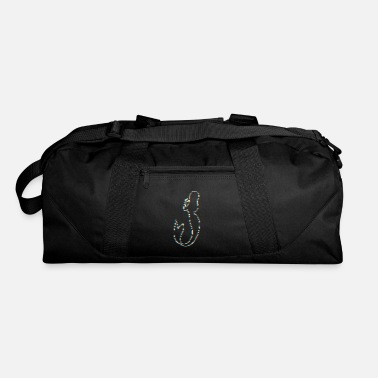 Folklore Psychedelic Mermaid Gift for Ocean Folklore Fans - Duffel Bag