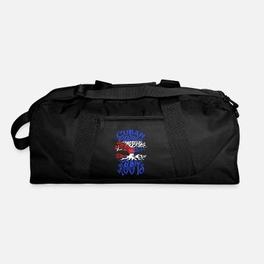 Cuban Roots Design Cuban Roots Cuba Flag Family Tree Heritage Ancestry - Duffle Bag