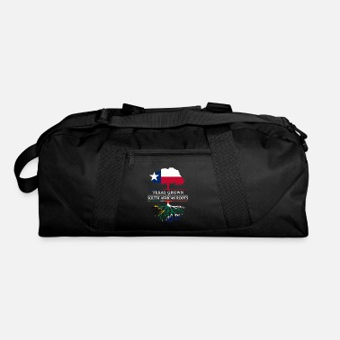 Patriotism Texan Grown with South African Roots - Duffle Bag
