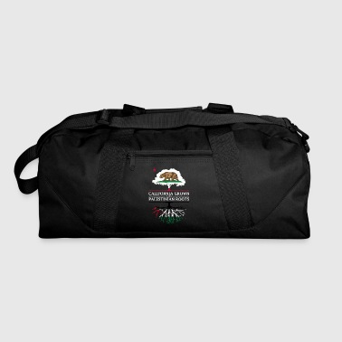 Palestinian California Grown with Palestinian Roots - Duffel Bag