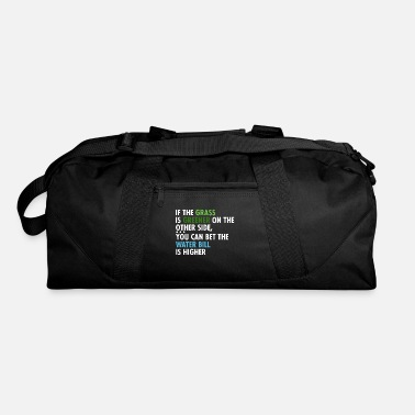 Grass If The Grass Is Greener - Duffel Bag