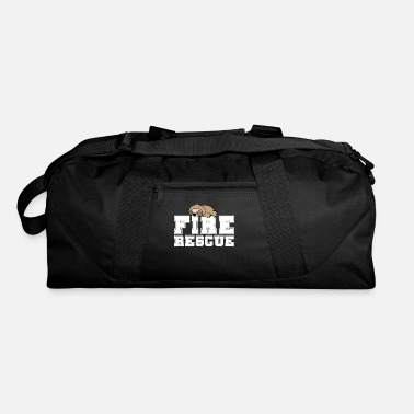 Gym Fire Rescue Sloth Gift - Duffel Bag