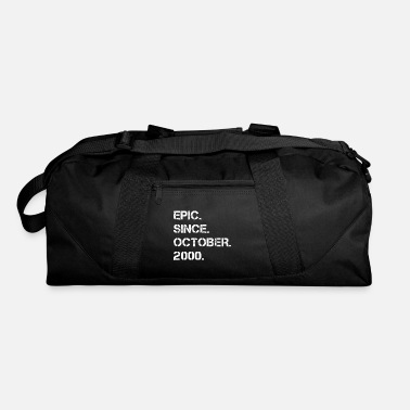 Birthday Epic Since October 2000 18 Years Old Birthday Gift - Duffel Bag