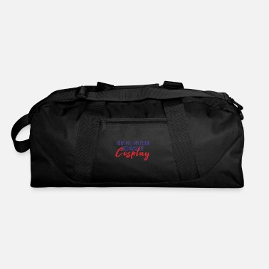 Witty Witty Poor Cosplayer Gift Shirt - Duffel Bag