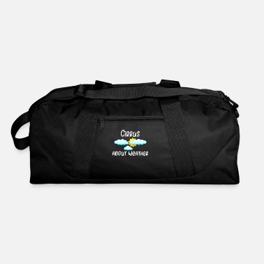 Weather Weather Cirrus About Weather Meteorology - Duffle Bag