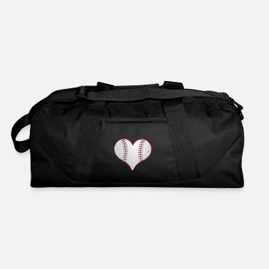 I Heart I Love Baseball Heart - Duffel Bag