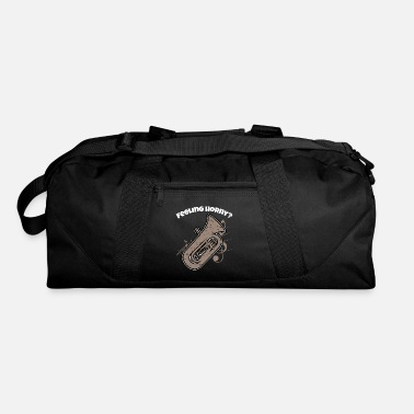 Brass Band Funny Euphonium design Brass Horn Marching Band - Duffle Bag