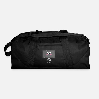 Tv TV Is Life Cute TV Pun - Duffel Bag