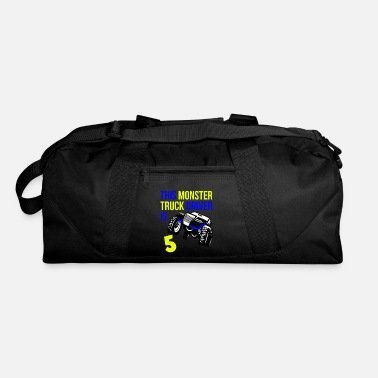 Monster Monster Truck Birthday 5 Year Old Gift - Duffel Bag