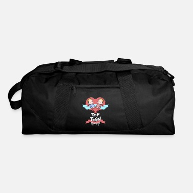 Evening Top Twin Mommy Quote Gift - Duffle Bag