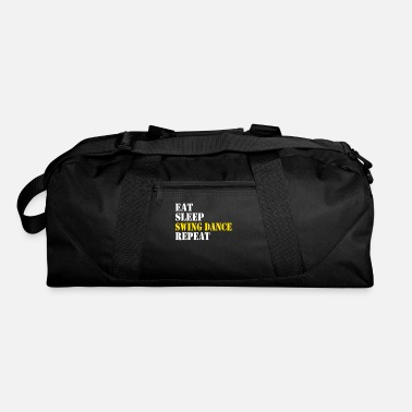Swinging Symbol eat sleep swing dance repeat - Duffle Bag