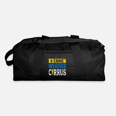 Cirrus Cirrus Cloud Pun Storm Chaser Apparel - Duffle Bag