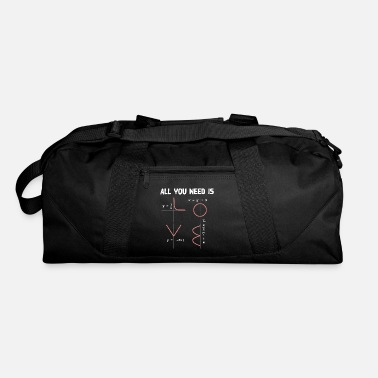 Geometry All You Need Is Love - Maths - Duffle Bag