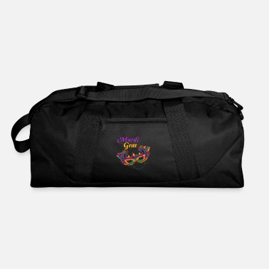 Parade Schedule Mardi Gras Street Party Carnival Mask Gift - Duffle Bag