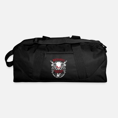 Mechanical Engineering Mechanic Car Motorcycle Skull Garage Gift - Duffle Bag
