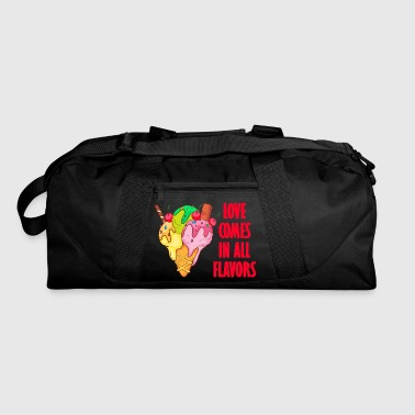Ice cream Gelato Sundae Summer Sherbet Food - Duffel Bag