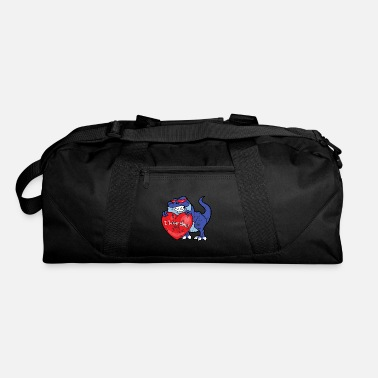 Couples Retro Vintage Grunge Style Valentine's Day - Duffel Bag