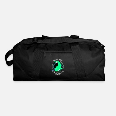 Planet Narwhal Unicorn Kawaii Ocean Arctic Swordfish - Duffel Bag