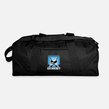 Mask Ice Hockey Mask Puck Stick Field Goal Champion - Duffle Bag