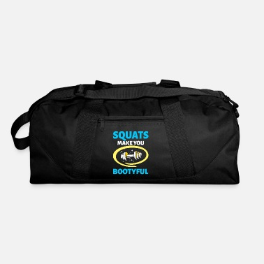 Crossfit Squats Make You Bootyful Crossfit Fitness Workout - Duffel Bag