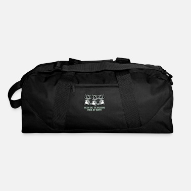 Steal My Sanity One by one the raccoons Steal my sanity - Duffle Bag