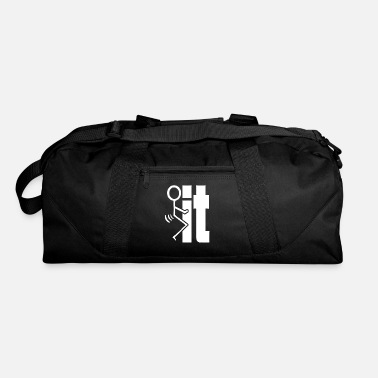 Stick Figure FxxK IT Stick Figure - Duffel Bag