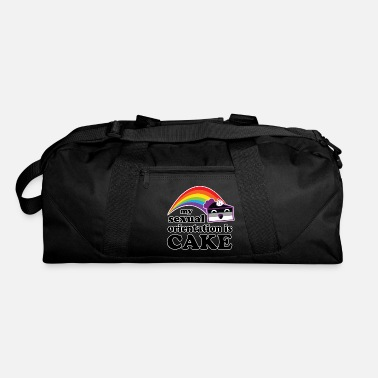 Sexual Orientation My Sexual Orientation Is Cake Funny LGBT Pride - Duffle Bag