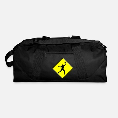 Wide Receiver Football Wide Receiver Crossing - Duffle Bag