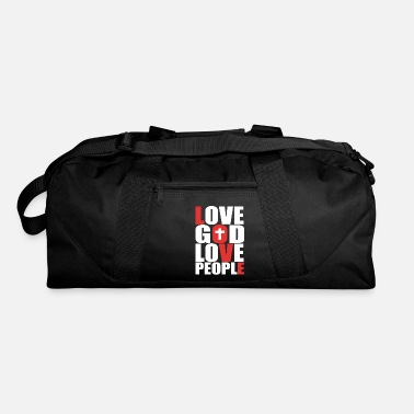 Love People Love God Love People - Duffle Bag