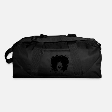 Black black and white - Duffle Bag