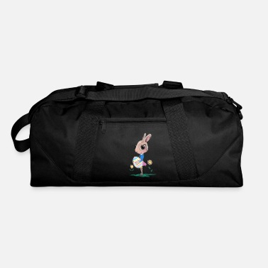 Easter Bunny Sketched Easter Bunny, Cute Bunny Easter Bunny - Duffle Bag