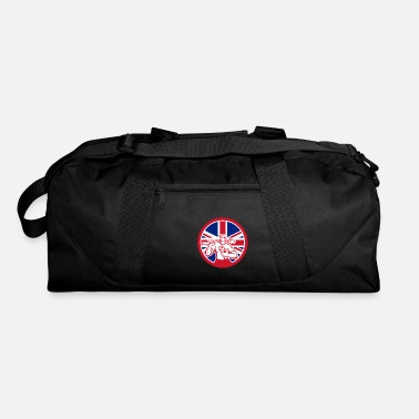 Great Britain British Drainlayer Union Jack Flag Icon - Duffle Bag