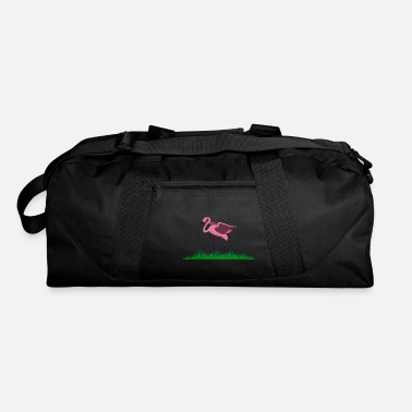 Water Love pink flamingo water love colorful colorful animals - Duffle Bag