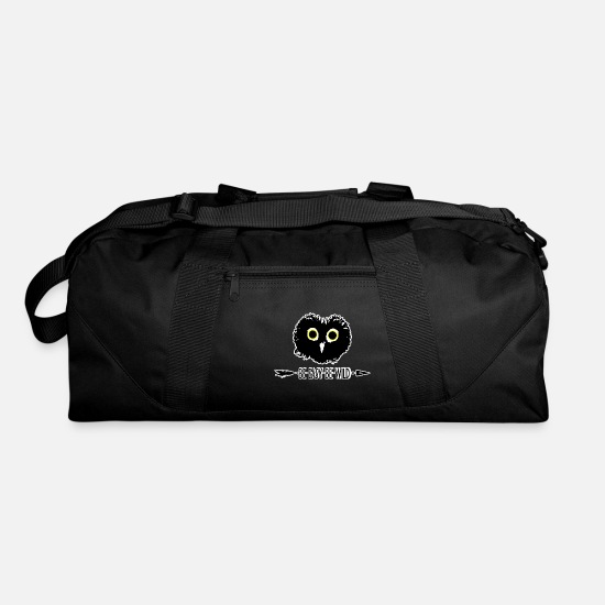 Nocturnal Bags & Backpacks - Be Owl - Duffle Bag black