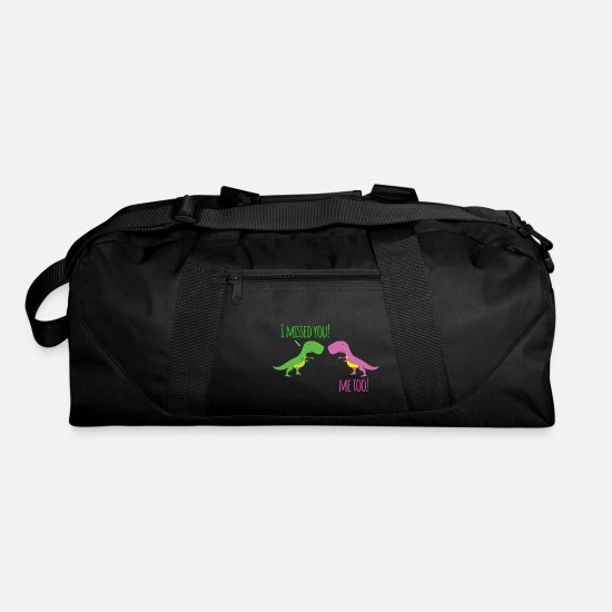 Love Bags & Backpacks - I missed you - Duffle Bag black