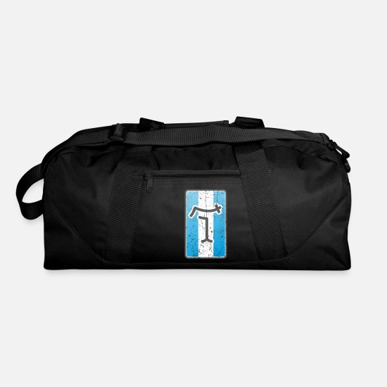 Logo Bags & Backpacks - De Tomaso Vintage Car Logo - Duffle Bag black