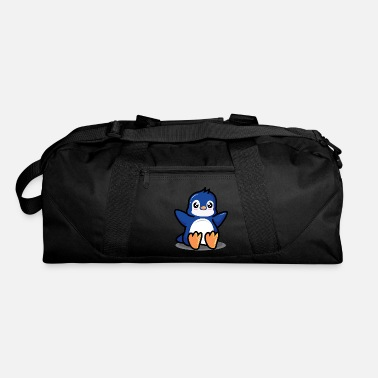 Super sweet blue penguin - Duffle Bag
