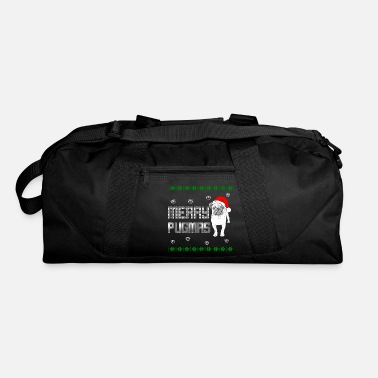 Doggie School Merry Pugmas - Duffle Bag