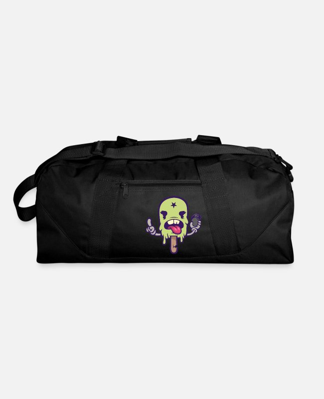 Graphics Bags & Backpacks - Ice cream suicide - Duffle Bag black
