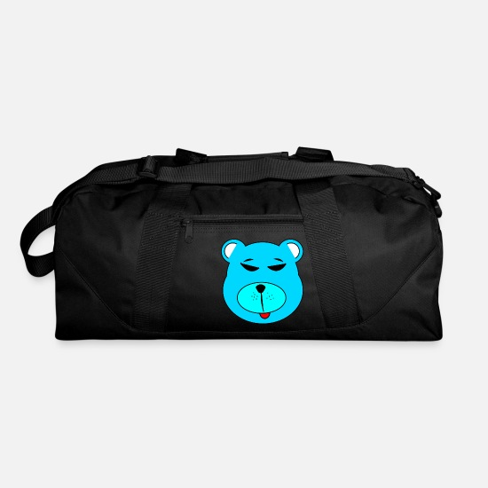 Grizzly Bags & Backpacks - polar bear eisbaer nordpol north pole alaska1 - Duffle Bag black