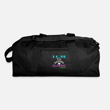 Classic Game i love eating classic games - Duffle Bag