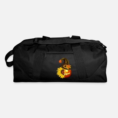 Spooky Hippie sunflower halloween pumpkin - Duffle Bag