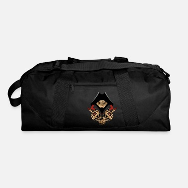 Hands Hooded Skull with Demonic Hands - Duffle Bag