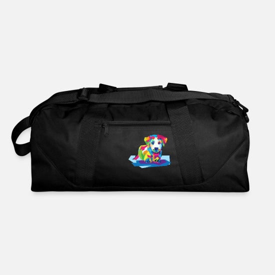 Color Bags & Backpacks - Sweet Dog in Color - Duffle Bag black