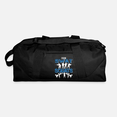 Team Law Enforcement Swat Team Power Lifting Police - Duffle Bag