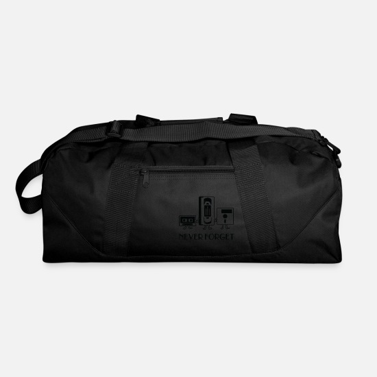 Never Bags & Backpacks - Never forget - Duffle Bag black